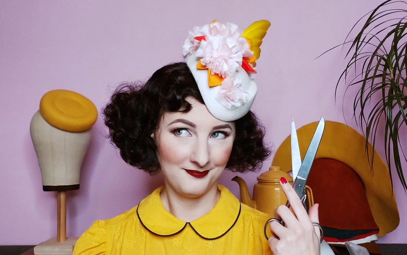 Hats and accessories in Brussels, Belgium. Oh Really by Sandra Lacroix, everything handmade and bespoke orders.
